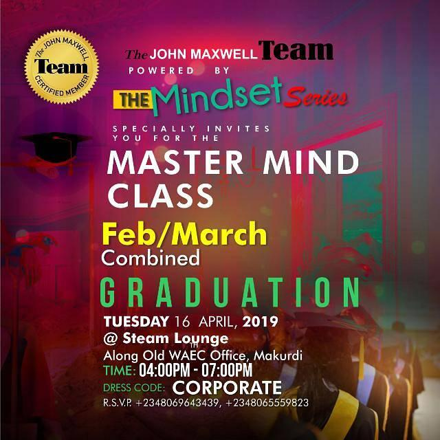 mindset series graduation