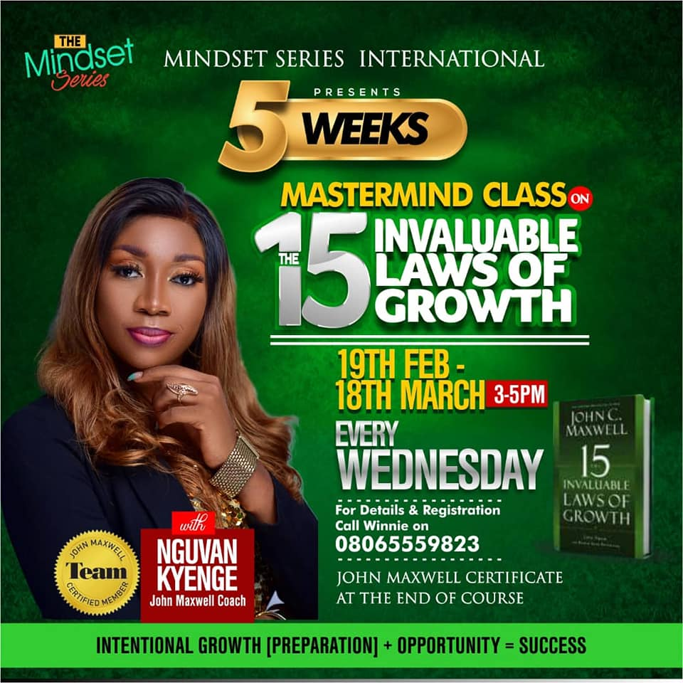 15 laws of growth class 2020