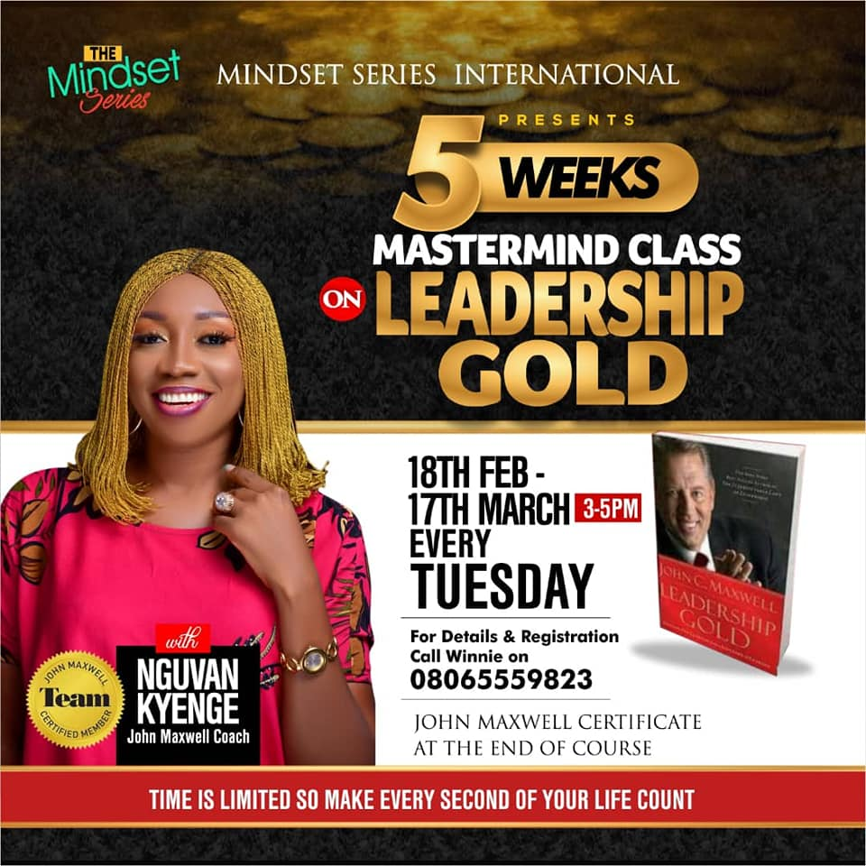 leadership gold class john maxwell nigeria team 2020